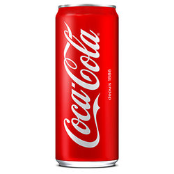 Cannette 33cl Coca-Cola